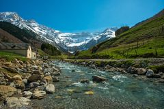 Free Fast River In Valley, France Royalty Free Stock Image - 37191536