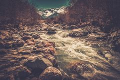 Fast river Stock Image
