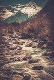 Fast river Royalty Free Stock Photo