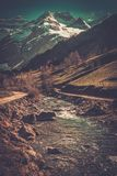 Fast river Stock Photo