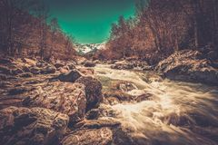 Fast river Stock Photography