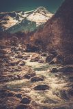 Fast river Royalty Free Stock Images