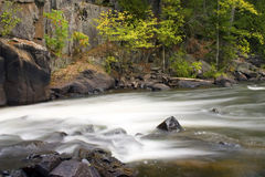Fast River Rapids Cascade Royalty Free Stock Photo
