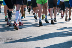 Fast runners Royalty Free Stock Images