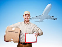 Fast shipping Stock Photography