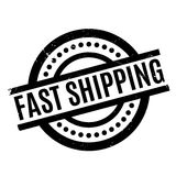 Fast Shipping rubber stamp Royalty Free Stock Photography