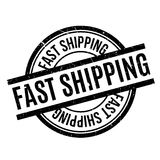 Fast Shipping rubber stamp Royalty Free Stock Image