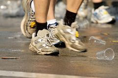 Fast shoes Royalty Free Stock Images