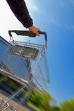 Fast shopping Stock Photos