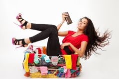 Fast shopping Stock Image