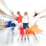 Fast shopping Stock Photography