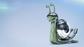 Fast snail Stock Images