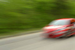 Fast speed car Royalty Free Stock Image