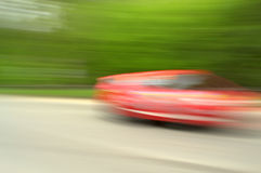 Fast speed car  Royalty Free Stock Photography