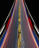Fast-speed highway of city Royalty Free Stock Image