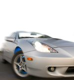 Fast sport car stock photography