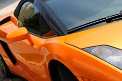 Fast  sports car Royalty Free Stock Photography