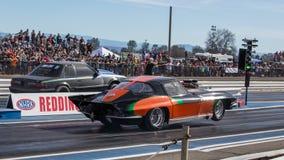 Fast Start Corvette Stock Images