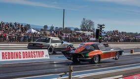 Fast Start Corvette Stock Photography