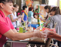 Fast street food Stock Images