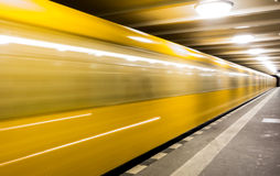 Fast subway Royalty Free Stock Images