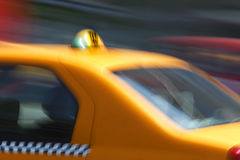 Fast taxi transport abstract Royalty Free Stock Photography