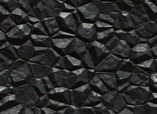 Fast textur för kol. bryta malm  Arkivbilder