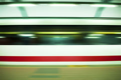 Fast train. Stock Photo
