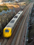 Fast train. Between Stockholm city center and Arlanda airport Royalty Free Stock Photography