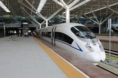 Fast train in China Royalty Free Stock Image