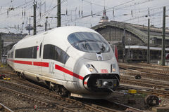 Fast Train in Cologne Royalty Free Stock Photography
