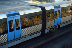 Fast train concept Royalty Free Stock Photography