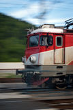 Fast train. Fast diesel train with motion blur for emphasis stock photos