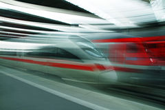 Fast train Stock Photos