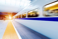 Fast trains Royalty Free Stock Photography