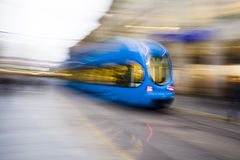 Fast tramway Royalty Free Stock Images