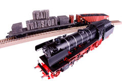 Fast Transport on Railway Stock Images