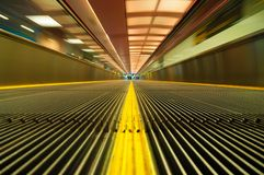 Fast travelator Royalty Free Stock Photos