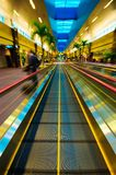 Fast travelator Royalty Free Stock Images