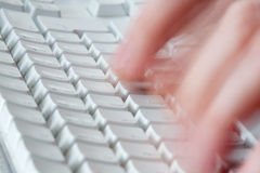 Free Fast Typing Stock Image - 7667301