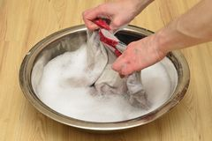 Fast washing Stock Images