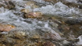 Fast water stock video footage