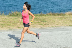 Fast woman Stock Images