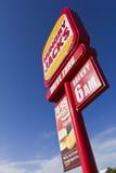 fasta food pobocza znak Fotografia Royalty Free