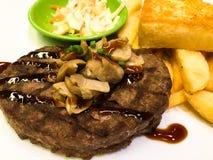 Fasta food stek łatwy jeść Obrazy Stock