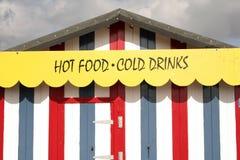fasta food stojak Zdjęcie Royalty Free