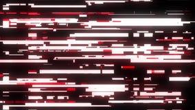 Fasten roter Störschubstörungs-Schirmhintergrund für Zuckungs-Technologie der Qualität der Logoanimation buntes Video der neuen d lizenzfreie abbildung