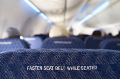 Fasten Seat Belt Royalty Free Stock Photography