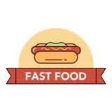 Fasten und ungesunde Fertigkost Stockfoto