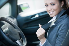 Fasten your seat belt Royalty Free Stock Photos